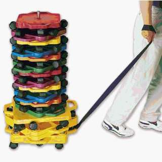 Physical Education Scooter Boards   Scooter Stacker