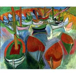 Raoul Dufy Boats Wooden Jigsaw Puzzle Toys & Games