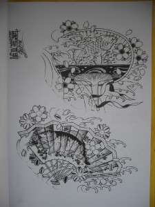 ITALY A4 SKETCH Book VOL.1 Tattoo Flash Book Designs ideas 11x8