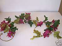 FOOT PINK FLOWER GARLAND SPRING SUMMER DECORATION