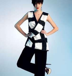 VOGUE ISSEY MIYAKE DESIGNER V1309 MISSES TUNIC/TOP PANTS SEWING