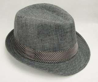 New mens womens fashion black fedora cap hat bucket 7