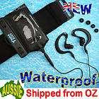 Waterproof CASE +Headphones iPod Nano swimming  6 6G 6th gen 8gb