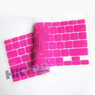 Silicone Keyboard cover skin for macbook PRO 13.3 (1/9 Colors)