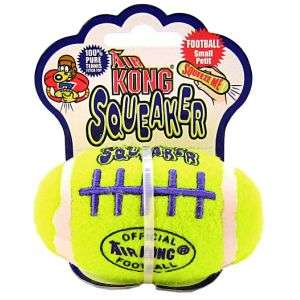 Kong Air Football Squeaker Dog Toy Large Floats Tennis |