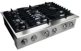 New Scratch & Dent Electrolux Icon 36 Stainless Steel Gas Cooktop