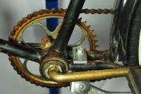 Vintage 1955 Schwinn Hornet balloon tire bicycle rat rod black bike