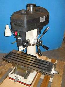 JET 12 Speed Belt Drive Mill Drill Combo 2 HP 230 V Single Phase