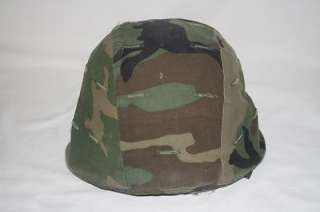 US Army Military Issued Warrior Helmet SDS Medium Woodland Cover