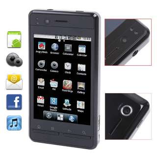 3G WCDMA Android 2.2 3.5 Capacitive Cell Phone GPS WiFi Dual Camera
