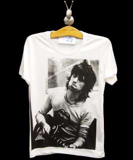Keith Richards 70 VTG Rock Guitarist Legend T Shirt S/M