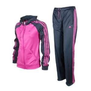 adidas young knit tracksuit damen trainingsanzug o03199 gr 34l. Black Bedroom Furniture Sets. Home Design Ideas