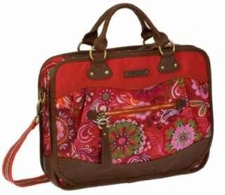 Oilily Laptop Bag Tasche Notebooktasche Graphic Flower Rot Red