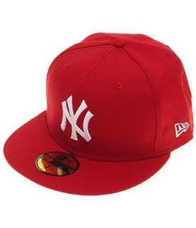 NEW ERA MLB Basic NEYYAN Cap  scarlet weiß  Bekleidung