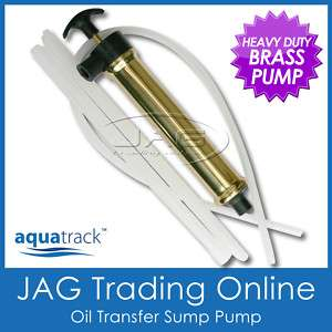 BRASS OIL TRANSFER SUMP PUMP   Boat Engine In/Outboard