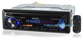 KENWOOD KDC HD548U CAR STEREO HD RADIO CD  IPOD PLAYER RECEIVER W