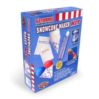 Nostalgia Electrics Snow Cone Kit for Snow Cone Machines  DISCONTINUED