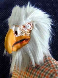 Tolle Adlermaske Latex Maske Adler Vogel Halloween