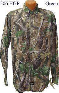DICKIES CAMOUFLAGE 506HGR LONG SLEEVE SHIRT REALTREE L