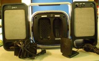 XAct XS027 Sirius Satellite Radio Portable Boombox w/ CD Player & AM