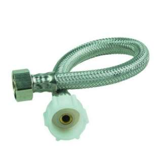 12 in. Stainless Steel Toilet Supply Connector B1T12