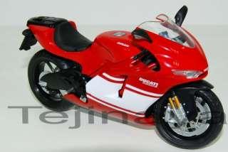 12 DUCATI DESMOSEDICI RR Diecast Model RED Sport Bike