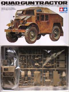 Tamiya 35045 British QUAD Gun Tractor 1/35 scale kit