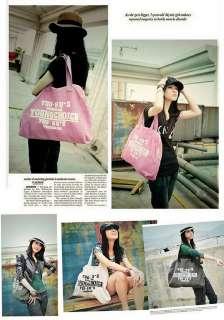 New Unisex Trendy Canvas Shopping Bag Tote Bags Handbags Purse