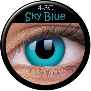 Farbige Kontaktlinsen crazy Kontaktlinsen crazy contact lenses Skyblue
