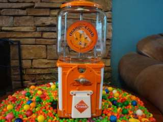 1950s Victor Topper *ORANGE CRUSH* Gumball / Candy Vending Machine