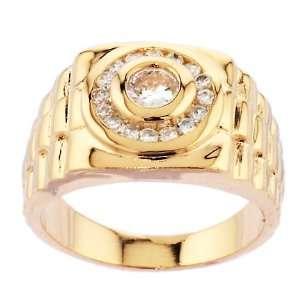 Herren Rolex Ring mit Zirkonia Diamanten   Größe 59 (18.8)   14