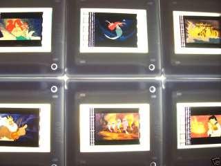 LITTLE MERMAID DISNEY Set of 20 Mounted Film Cells