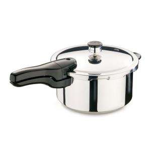 Presto 4 qt. Stainless Steel Pressure Cooker 01341 at The Home Depot