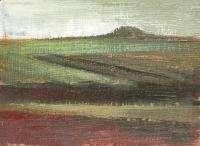 Antique opean oil painting impressionism landscape