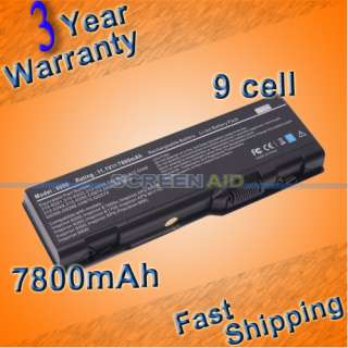 CELL LAPTOP BATTERY DELL INSPIRON 6000 9200 E1705 M90