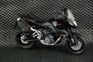 12 KTM990 SMT B Diecast Model Motorcycle Street Bike
