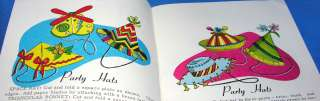 VTG 1963 KIDS CRAFTS BOOK/ HOW TO MAKE IT WITH PAPER PLATES