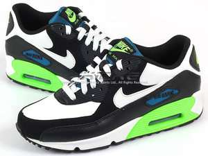 Nike Air Max 90 (GS) Black/White Electric Green 2012 Youth Running