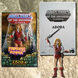 MASTERS OF THE UNIVERSE CLASSICS  ADORA  JAN 10  P4034