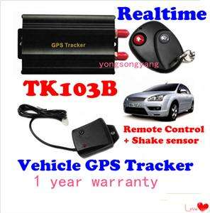 High Quality Vehicle Car GPS Tracker+Control+Shake Sensor+Siren 103B