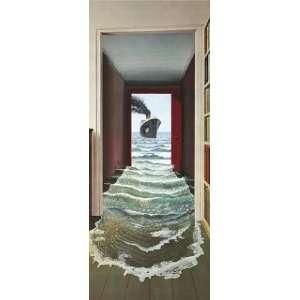 1art1 40538 Wasser   Das Geheimnis Fototapete Poster Tapete (200 x 86
