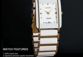 New Lady Dial Elegant Jewellery Quartz Wrist Watch White Women Girl