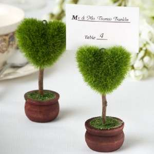 200 Heart Topiary Wedding Event Place Card Holders