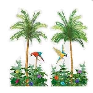 Tropical Luau Palm Tree Decorations Beach Party 5ft Decor Scene