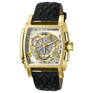 Collection Gold Tone Chrono Gents Watch Ships Free 843836056625