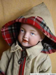 PRICE REDUCED  Rare Antique Character Doll Bahr & Proschild 525 ca