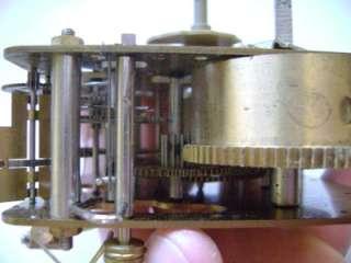 77 Franz Hermle Brass Clock Movement Steam Punk Part m25