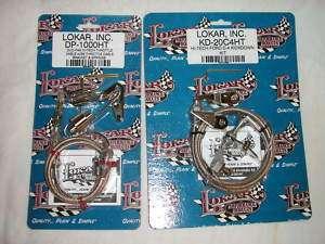 Lokar Ford C4 C 4 24 Throttle & Kickdown Cable Kits