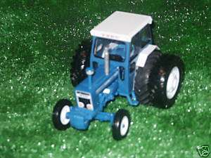 BRITAINS FORD 7600 CONVERSION WITH REAR DUAL WHEELS