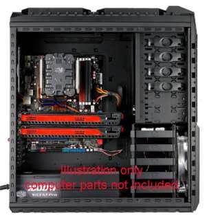 Cooler Master HAF X RC 942 KKN1 Full Tower Black 11 Bay